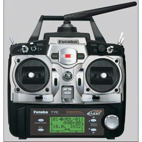 Radio Controle Futaba Fasst 7c Aeromodelo E Para Helimodelo