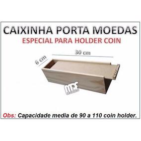 Caixa Mdf - Para Moedas No Coin Holder