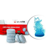 Limpador Para-brisa Pastilha - Wurth 5g ( 10 Unidades )