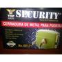 Cerradura De Metal Para Puertas Security