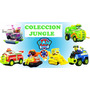 Paw Patrol Jungle Rescue Coleccion De 6 Camiones Original