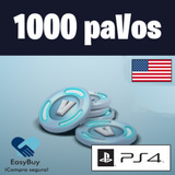 1000 V-bucks Fortnite Pavos Ps4 Psn Usa Fornite Stock Ya
