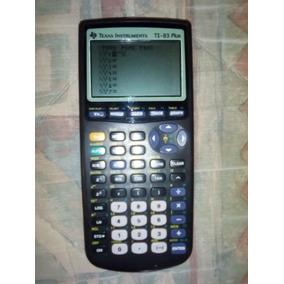 Calculadora Texas Instrument Ti-83 Plus Incluye Cable A Pc