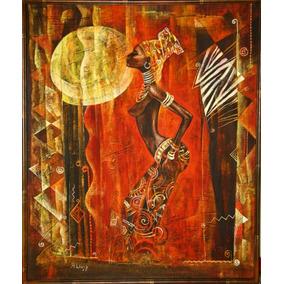 Cuadros Africanas Modernos Y Coloridos