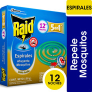 Espiral Raid 5en1 X 12un