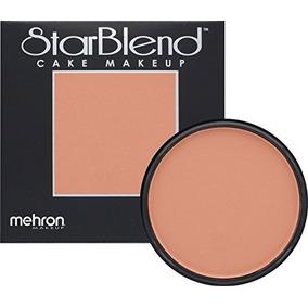 Mehron Makeup Starblend Cake Makeup Ruddy Bronze 2oz