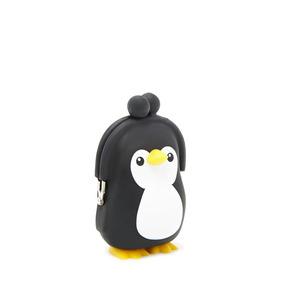 Monedero De Goma Importado F21 Pinguino