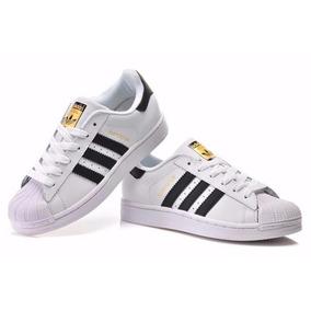 Zapatillas adidas Superstar + Caja Talles 34/44 Envío Gratis