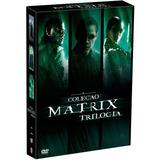 Matrix - Coleção Trilogia - Box 3 Filmes Em 3 Dvds - Novo