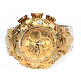 Relógio Invicta Thunderbolt 21359 Gold Prova Dagua Ref000639