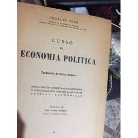 Curso De Economia Politica De Charles Gide