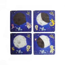 Quebra-cabeças Infantil Conhecendo As Fases Da Lua 36 Pçs