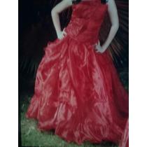 Vestido Rojo De 15 Años