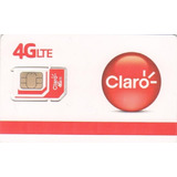 Chip Prepago Claro Caracteristica Interior Catamarca 0383