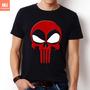 Camisetas Tv E Herois Hq Deadpool Dead Pool Punisher Marvel