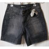 Short Jeans Preto Curto Maravilhoso!
