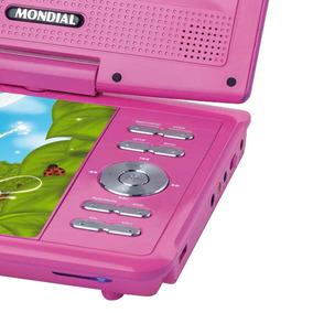 Dvd Player Portátil Fadas Encantadas Mondial 7 Bivolt