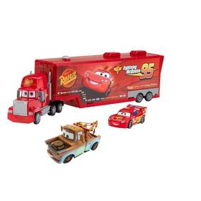 Triplo Combo Caminhão Mack + Macqueen + Mate