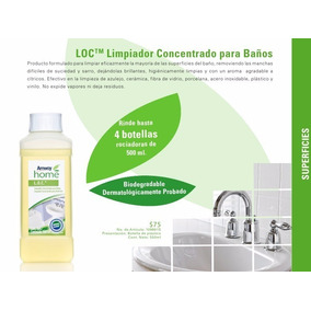 Productos Amway ( Loc Limpiador Concentrado Para Baños )