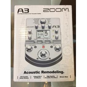 Pedaleira Zoom A3 Acoustic Para Violão