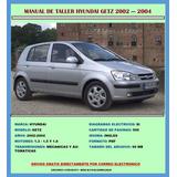 Manual De Taller Hyundai Getz 2002-2004 Motor 1.3,1.5 Y 1.6