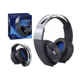 Headset Platinum Wireless Fone S/ Fio Ps4 Vr Sony Lacrado