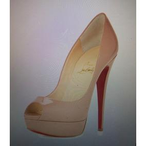 Zapatos Louboutin Talla 6.5 Usados Una Vez!