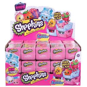 Shopkins Canastita Con 2 Figuras - Serie 4 Originales Toybox