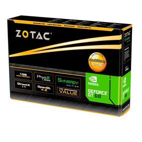 Placa De Video Geforce Zotac Gt 610 2gb Ddr3 64 Bits-nova
