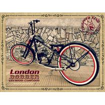 Bicimoto Chopper King London Bobber Custom Somos Fabricantes