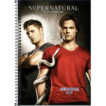 Caderno Personalizado Supernatural