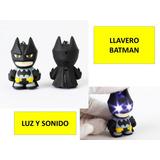Llavero Batman Led Con Luz Led Dc Comics Marvel Dhl Gratis
