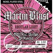 Encordado Para Guitarra Eléctrica Martinblust Rl120 (10-46)