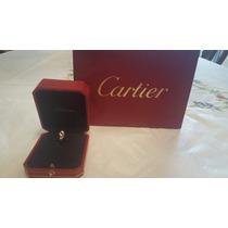 Anillo Cartier Oro Y Zafiro 100% Cartier 100% Original Tous