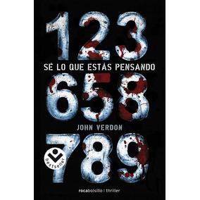 Libro Se Lo Que Estas Pensando - John Verdon + Regalo