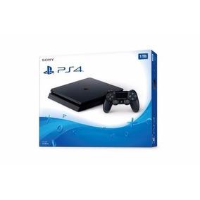 Playstation 4 Slim Sony 1tb Ps4 - Bivolt - Novo Lacrado