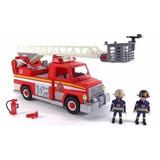 Playmobil City Action Camion De Bomberos Con Escalera 5980