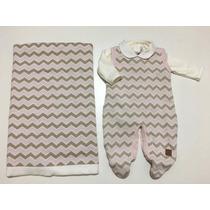 Saída Maternidade Petit Collection Menina;ref 163378