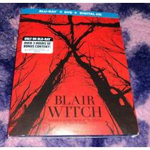 Blair Witch - La Bruja De Blair - Bluray + Dvd Importado Usa