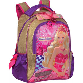 Mochila De Costas M Barbie A Princesa E A Pop Star Sestini