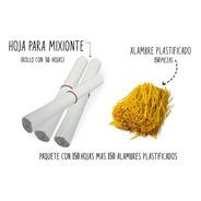 Papel Para Mixiote 150 Hojas Con 150 Alambres