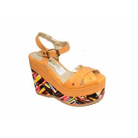 Sandalia Lola Roca, Calzado De Mujer Nuevo Cuero 100%