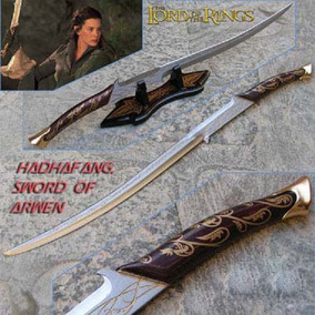 Espada Arwen Senhor Dos Anéis Elfica Hadhafang