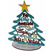 10 Arvores De Natal Com Frases Positivas Mdf Colorido