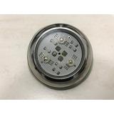 Iluminação Piscina Mini Led 3 Rgb Inox 9 Watts Luminária