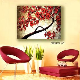 Cuadros Pinturas Florales Y Abstractos Para Decorar Su Hogar