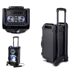 Caixa De Som Amplificada Portatil Bluetooth 150w Rms Sp281