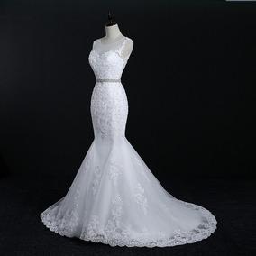 Vestido De Noiva Estilo Sereia - Sob Medida - Frete Grátis
