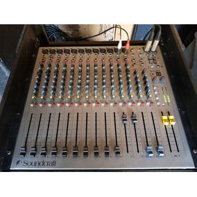 Consola Soundcraft Spirit E12 16 Canales, Procesador Efectos