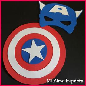 Souvenir Capitan America: Màscara Antifaz + Escudo